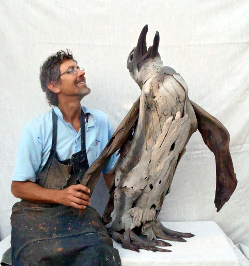 Tony-fredriksson-with-driftwood-penguin